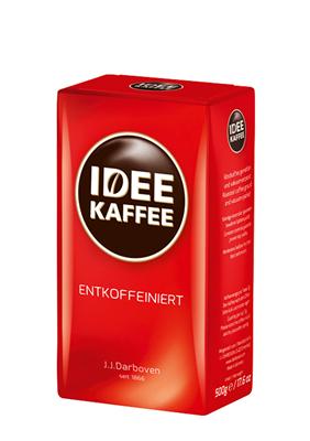 IDEE KAFFEE ENTKOFFEINIERT